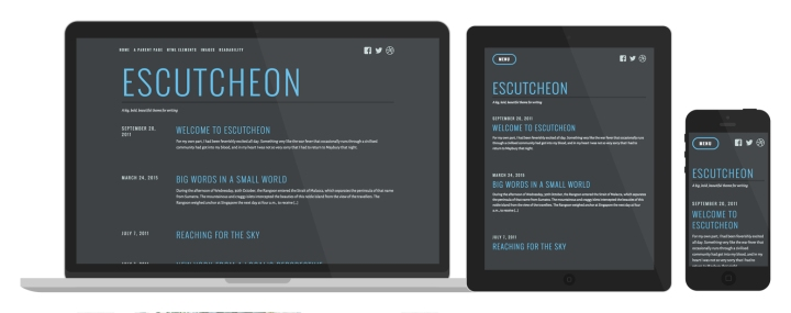 Escutcheon Responsive WordPress Theme