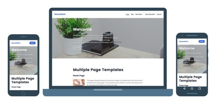 Nuevos temas: Affinity y Shoreditch — El blog de WordPress.com