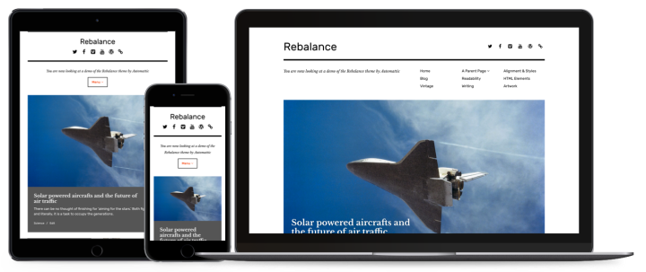 rebalance wordpress theme