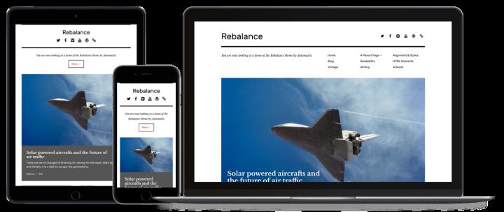 rebalance wordpress theme