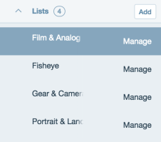 listes