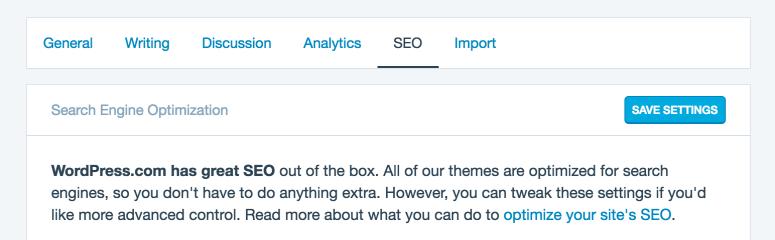 wordpress の新しい seo 設定パネルを最大限に活用する wordpress com