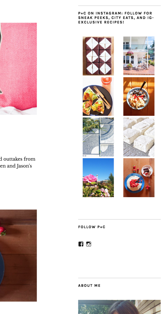 Pine and Crave website