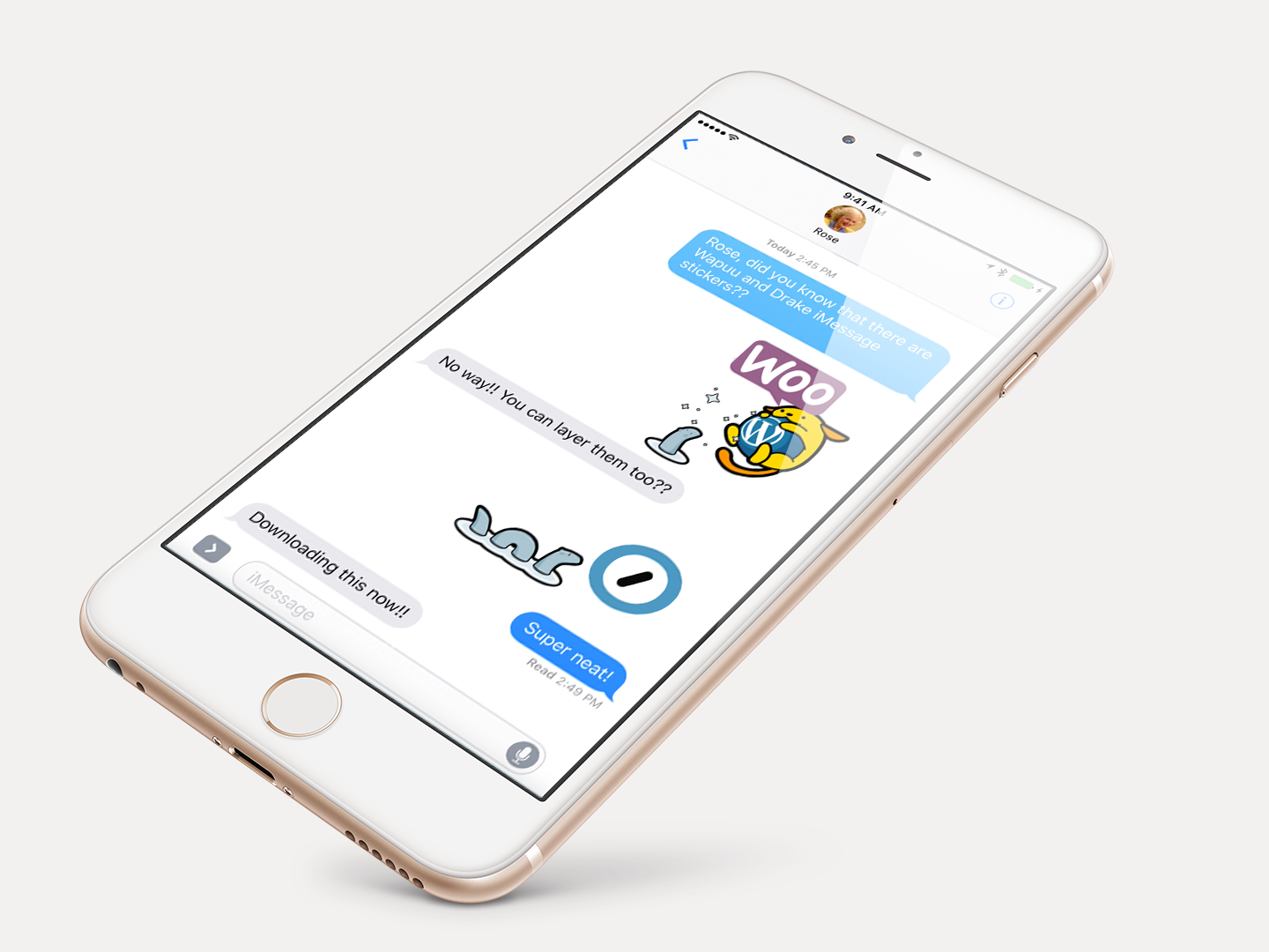 Express Yourself with New WordPress Stickers for iOS and iMessage