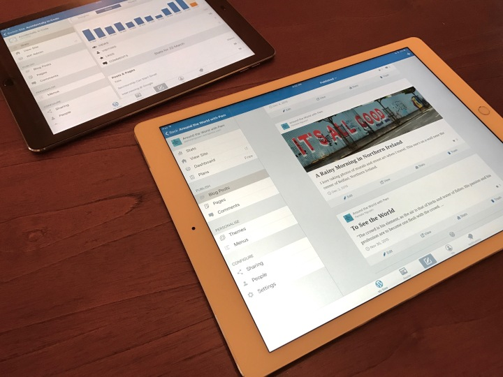 A New WordPress App Update, Designed for the iPad
