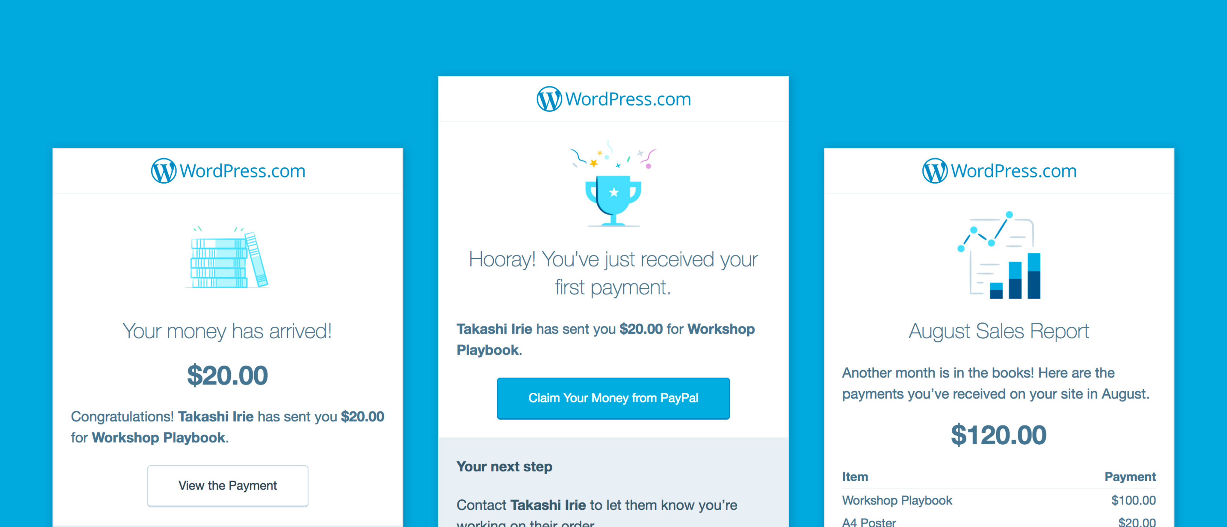 Add A Simple Payment Button To Your WordPress.com Premium Or Business Site