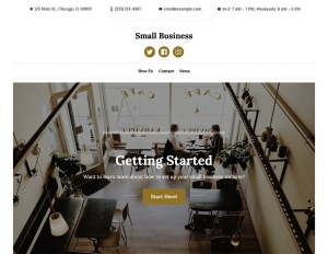 New Premium Themes: Small Business and Photo Blog 4