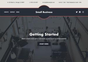 New Premium Themes: Small Business and Photo Blog 1