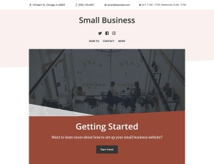 New Premium Themes: Small Business and Photo Blog 2
