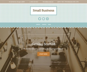 New Premium Themes: Small Business and Photo Blog 3