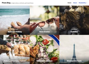 New Premium Themes: Small Business and Photo Blog 6