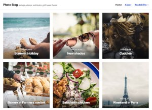 New Premium Themes: Small Business and Photo Blog 7