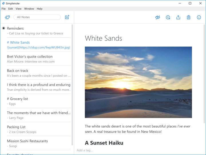 Try Simplenote, Our Fast and Easy-to-Use Notes App