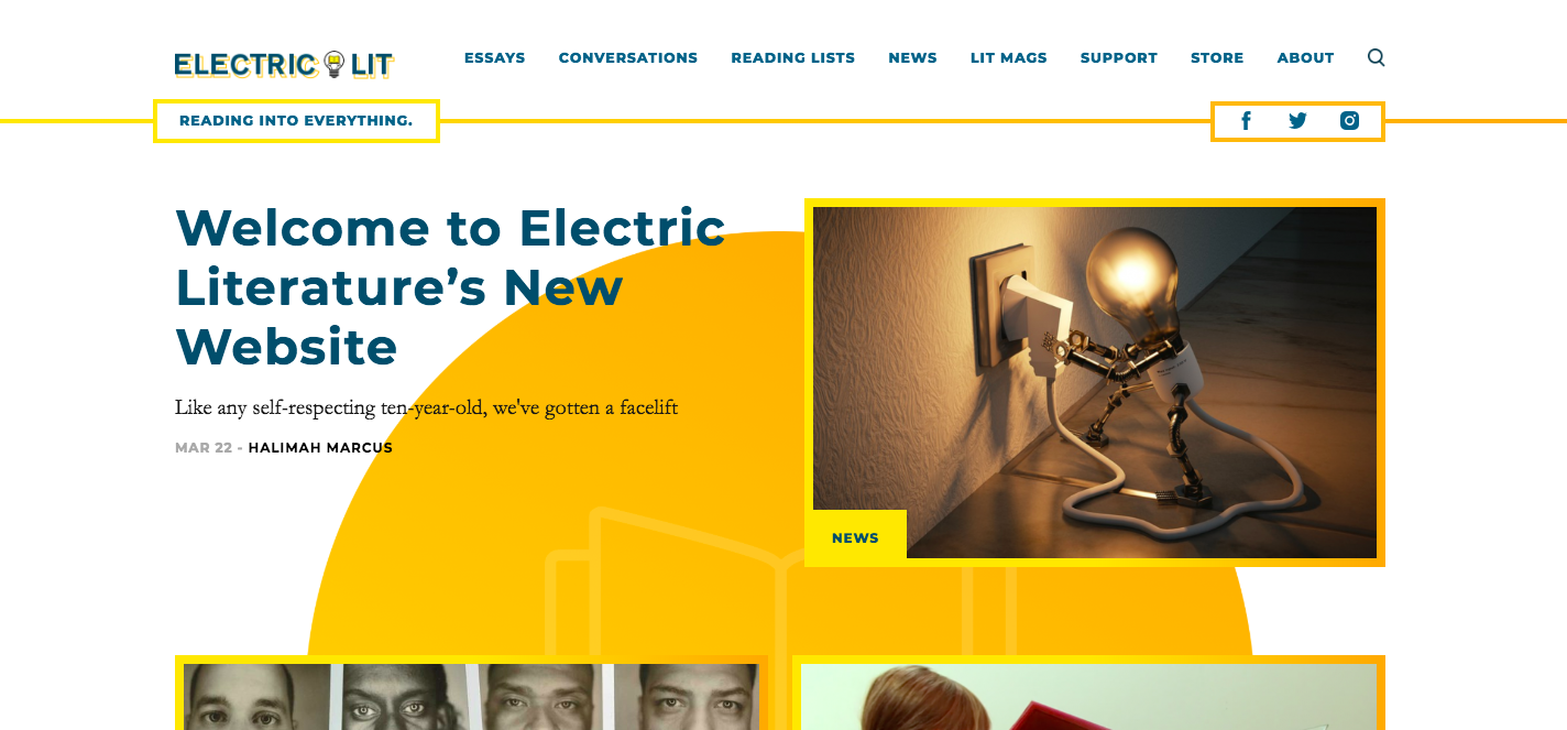 How does an indie website make its business work in 2019? We talked with Electric Lit's Executive Director Halimah Marcus about some of the lessons they've ...