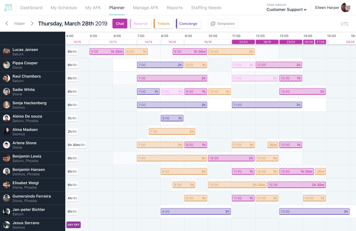 happy-schedule-e28094-planner-screenshot-1 WordPress.com's Parent Company Announces Happy Tools, a New Suite of Products for the Future of Work WPDev News  Automattic|Hiring