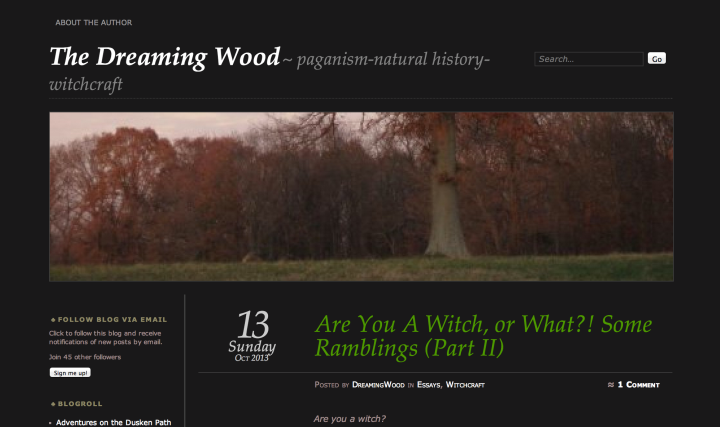 Dreaming Wood