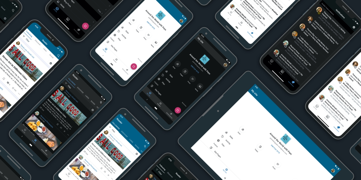 improved navigation wordpress apps - Improved Navigation in the WordPress Apps