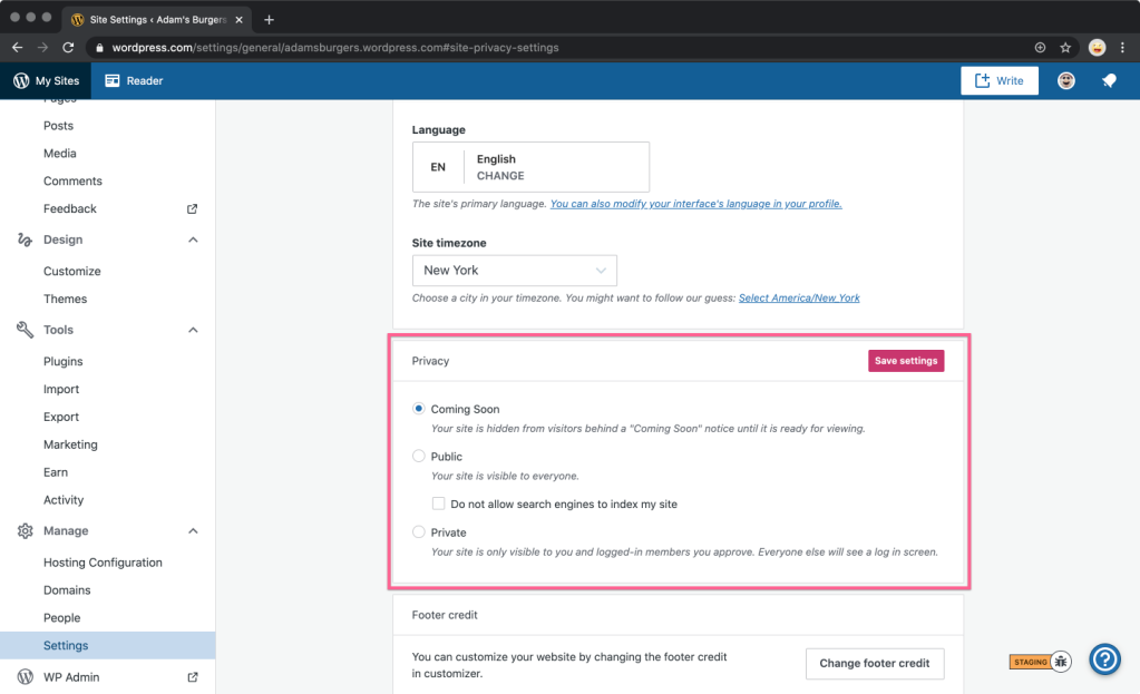 Coming Soon: Make Your Site Private Until You're Ready to Launch