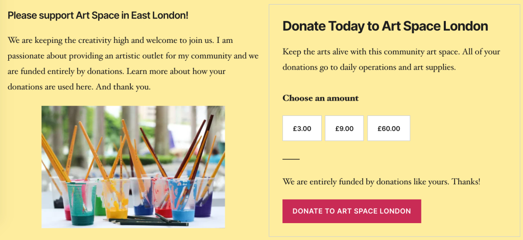 Start Taking Donations, Tips, and Contributions for Your Creative and Professional Pursuits