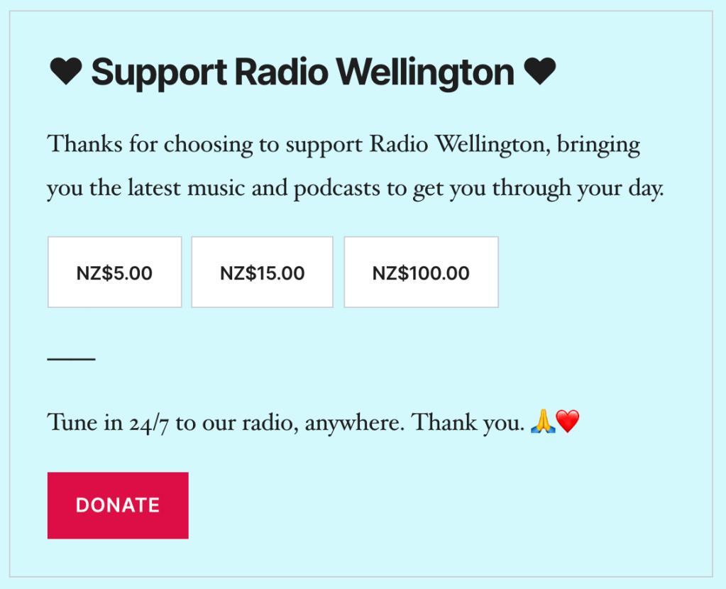 Image of radio   podcast example