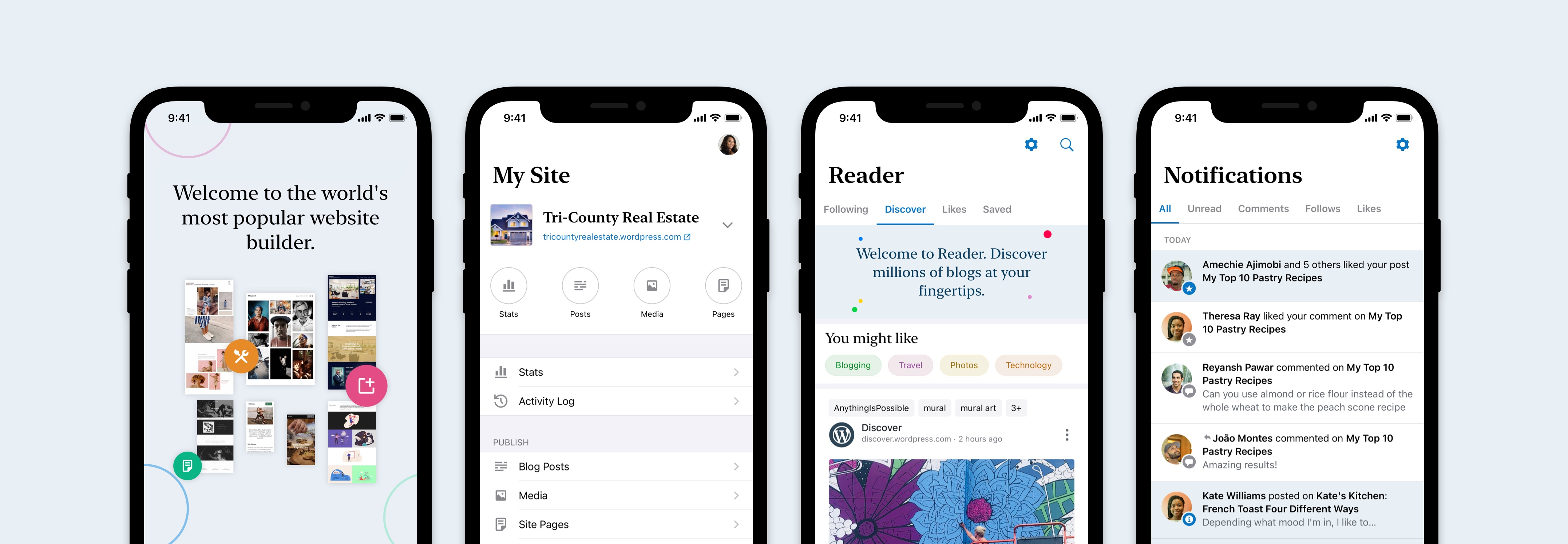 Introducing a new design for the WordPress apps