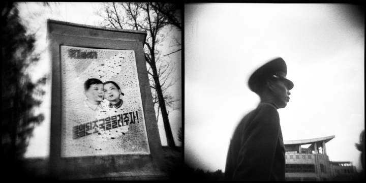 NORTH KOREA From the photo essay, North Korea in Hideous Distortion by Aaron Joel Santos