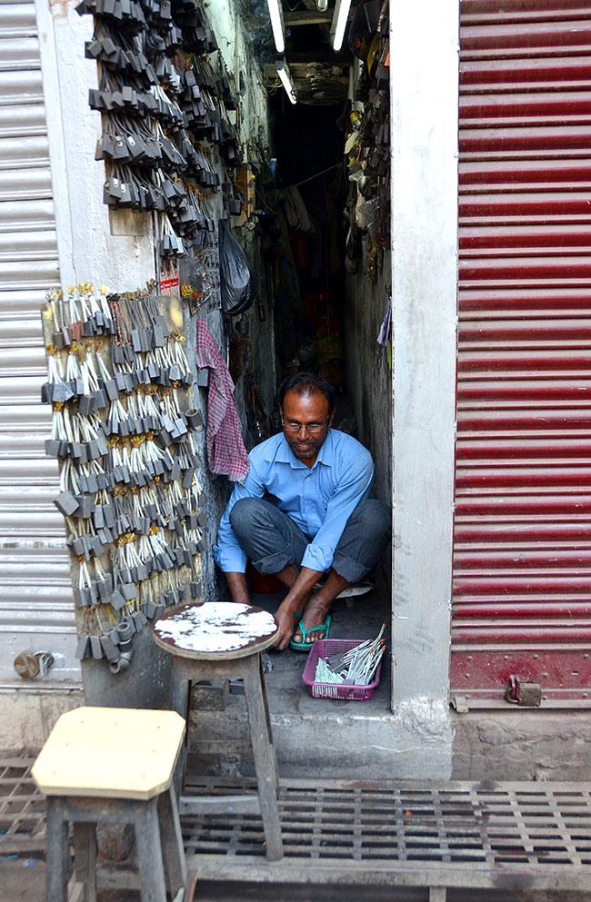 Kolkata INDIA The Locksmith by Madhu